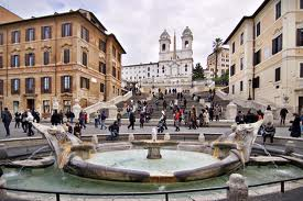Take a walk down the Spanish Steps!
