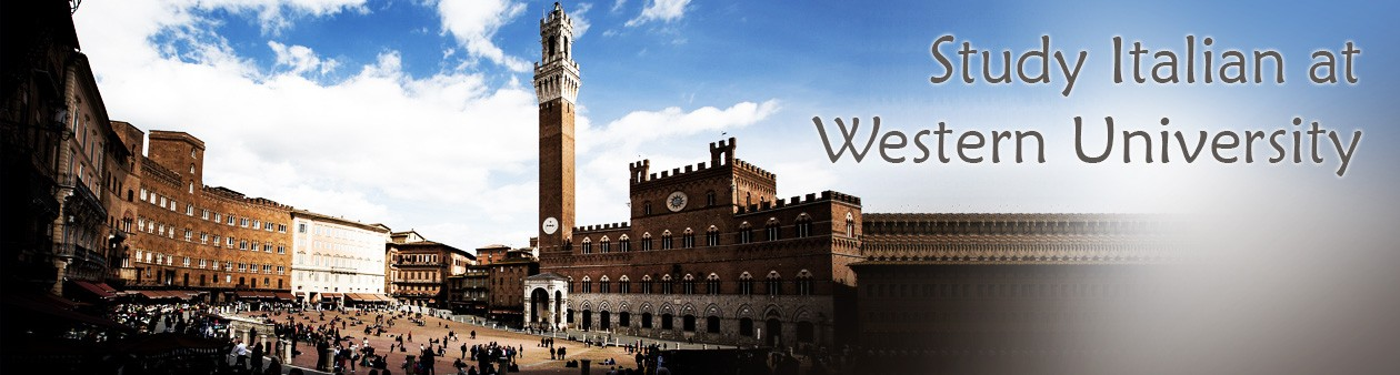 Italian Studies at Western University
