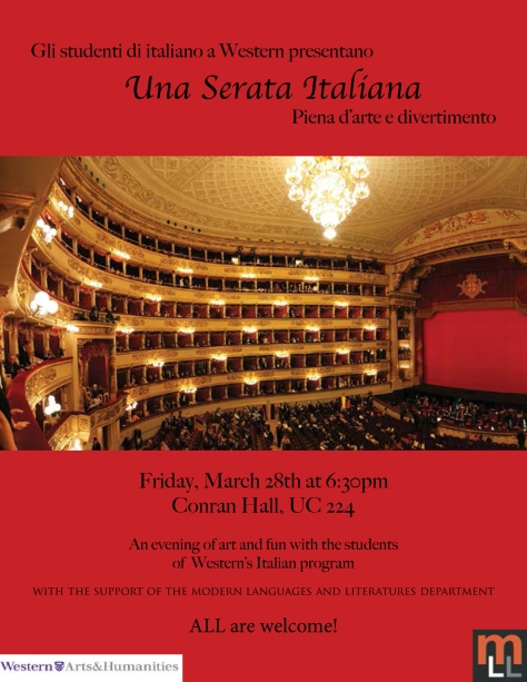 Una Serata Italiana (An Italian Night)