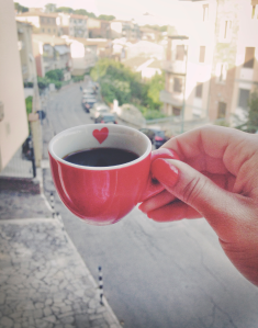 "It's a kiss that whispers ""buongiorno"", ""buon pomeriggio"" and ""buona sera"" with a million little moments in between that need no greeting. In short, un caffè is the air Italians breathe, the lifestyle we know as ""La Dolce Vita."""