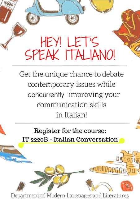 NEW poster_ Italian Conversation+